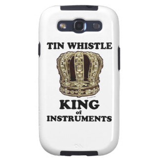 Tin Whistle King of Instruments Samsung Galaxy SIII Cases