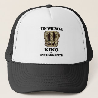 Tin Whistle King of Instruments Trucker Hat