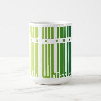 Tin whistle mug