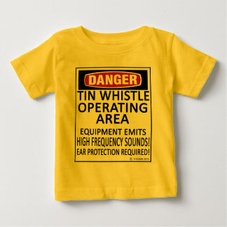 Tin Whistle Operating Area Baby T-Shirt