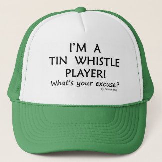 Tin Whistle Player Excuse Trucker Hat