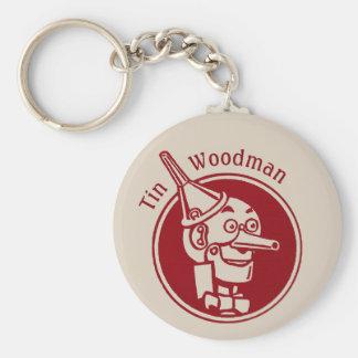 Tin Woodman (Tin Man) Face CC0901 Wonderful Wizard Keychain