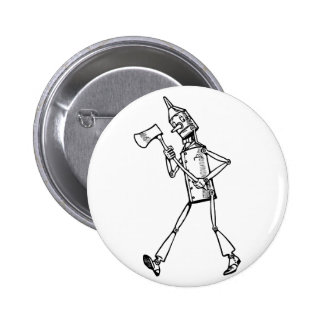 Tin Woodsman Button