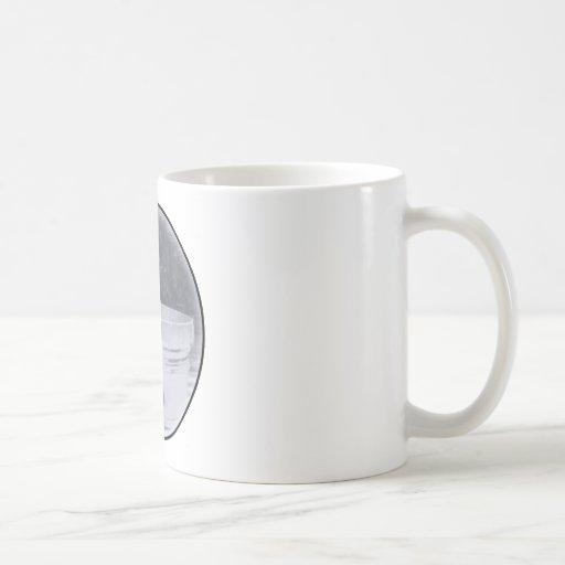 tina del tiempo del baño taza de café