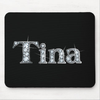 "Tina ""Diamond Bling""  Mousepad"