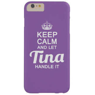 Tina handle it! barely there iPhone 6 plus case