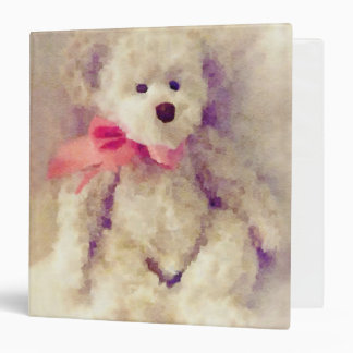 Tina Teddy Bear Binder