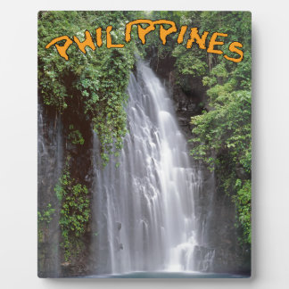 Tinago baja Filipinas Placa Para Mostrar