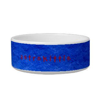 TinCan SpaceCat Astrokittie Bowl
