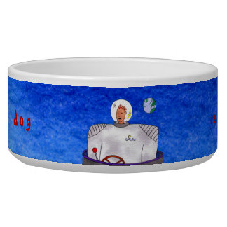 TinCan SpaceDog Astromut Bowl