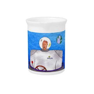 TinCan SpaceMan Beverage Pitchers