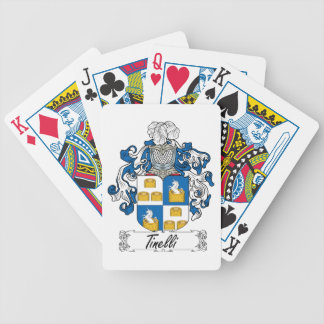 Tinelli Family Crest Bicycle Playing Cards