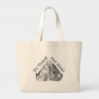 Tinfoil Hat Time Large Tote Bag