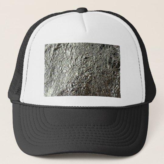 Tinfoil  Silver paper Trucker Hat  cfbcc1c97e21