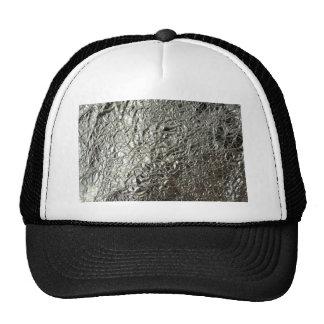 Tinfoil /Silver paper Trucker Hat