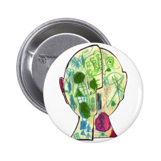 Tinger pm -Marley M Pinback Button