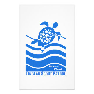 Tinglar Scout Patrol Collection Stationery