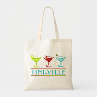 TINI-VILLE TOTE BAG