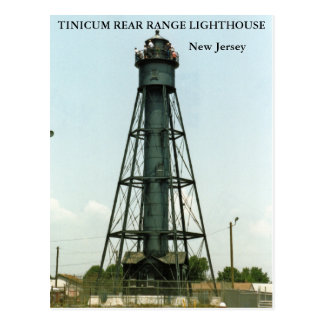 Tinicum Rear Range Lighthouse, New Jersey Postcard