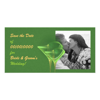 Tinis 4 Two Save the Date Photocard Card