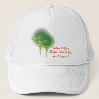 Tinis for Two Faery Martini Art Trucker Hat