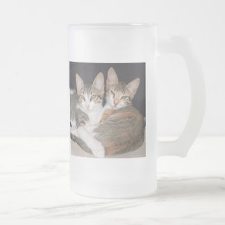 tinkabella  from the fay johns collection frosted glass beer mug