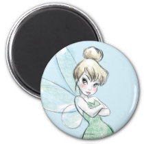 Tinker Bell | Arms Crossed Pastel Magnet