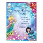 Tinker Bell Birthday Invitation Invitation