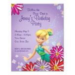 Tinker Bell Birthday Invitation Invitations