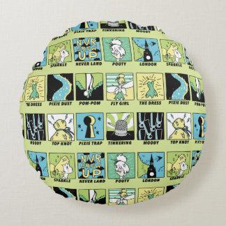 Tinker Bell   Cute Comics Round Pillow