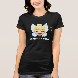 Tinker Bell Emoji   Tinker Bell with wand T-Shirt