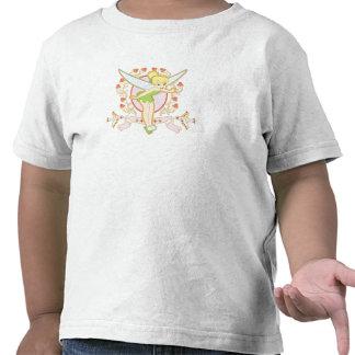 Tinker Bell Floral Frame Disney T Shirt