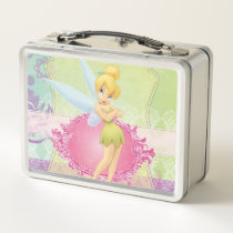 Tinker Bell Frame Metal Lunch Box