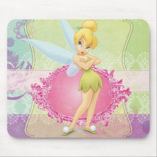 Tinker Bell Frame Mouse Pad