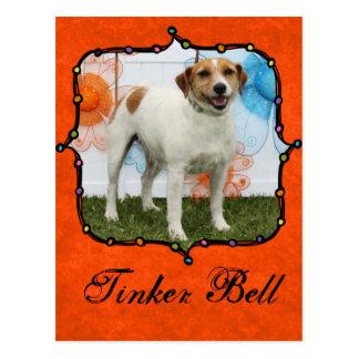 Tinker Bell - Jack Russell Postcard
