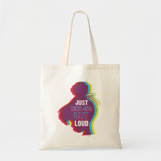 Tinker Bell - Just Tink-ing Out Loud Tote Bag