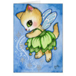 Tinker Bell Kitty - Cute Fairytale Cat Cards