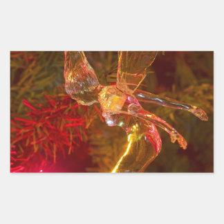 Tinker Bell Landing Rectangle Sticker