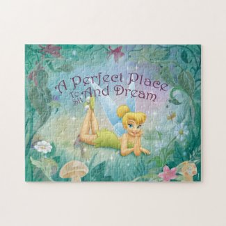 Tinker Bell Laying Down - Kids Jigsaw Puzzle