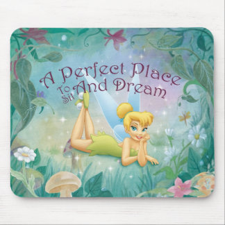 Tinker Bell Laying Down Mouse Pad