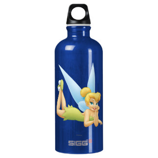 Tinker Bell Laying Down Water Bottle