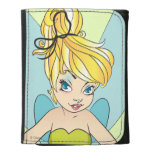 Tinker Bell Leather Trifold Wallet