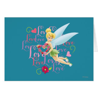 Tinker Bell Love Greeting Cards