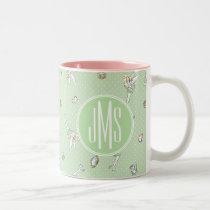 Tinker Bell | Monogram Pretty Little Pixie Two-Tone Coffee Mug