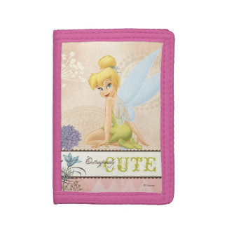 Tinker Bell - Outrageously Cute Tri-fold Wallet