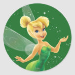 Tinker Bell  Pose 17 Round Stickers