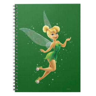 Tinker Bell  Pose 17 Spiral Notebook