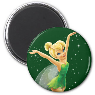 Tinker Bell  Pose 18 2 Inch Round Magnet