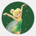 Tinker Bell  Pose 18 Classic Round Sticker