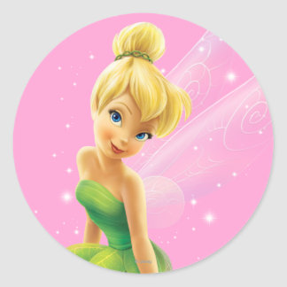 Tinker Bell  Pose 20 Classic Round Sticker